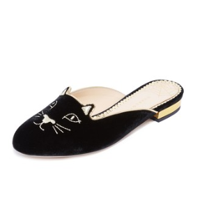Charlotte Olympia Kitty Slippers | SHOPBOP