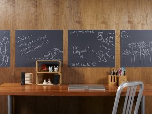 $5.99 YOPO Sticky Back Chalkboard Contact Paper for Home or Office -Great for Walls (18