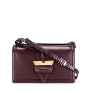 Loewe Barcelona Crossbody Bag Burgundy