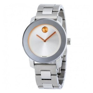 Movado Bold Silver Dial Stainless Steel Watch 3600084 - Bold - Movado - Watches - Jomashop