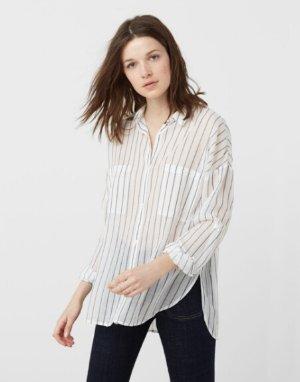 Cotton Shirt @ Mango