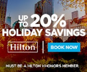 Flash Sale - Up to 20% Off your next Hilton stay across all brands in the Americas