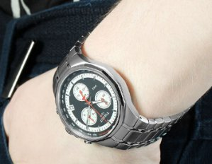 TISSOT T-Classic PRX Chronograph Stainless Steel Men's Watch