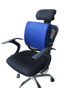 Love Home Memory Foam 3d Ventilative Mesh Lumbar Support Cushion Back Cushion Alleviates Lower Back Pain Multi-Color