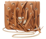 Metropolis Mini Fringe Leather Crossbody by Furla