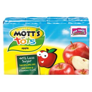 $9.50 Pack of 32 Mott's for Tots Apple, 6.75 fl oz boxes (Pack of 32) , Prime Member Only