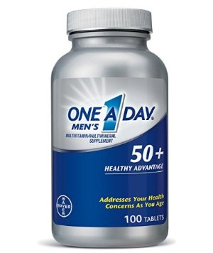 $3.3One A Day Men's 50+ Advantage Multivitamins, 100 Count