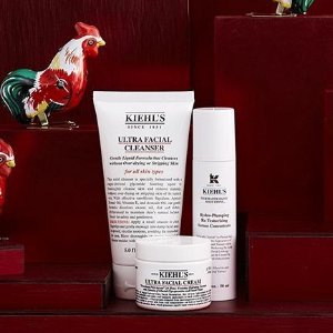 4 Deluxe Samples and A BagUltra Facial Collection @ Kiehl's