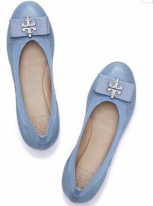 $122.5(Org.$250) Tory Burch Sedgewick Ballet Flat on Sale