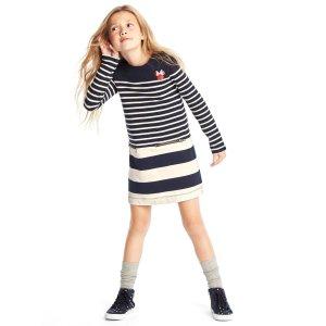 GapKids | Disney Minnie Mouse stripe shift dress | Gap