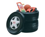Little Tikes Classic Racing Tire Toy Chest - Walmart.com