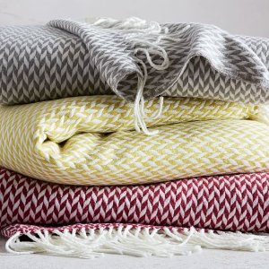 Warmest Throw – Arrow Jacquard | west elm