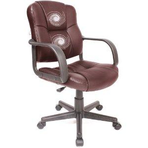 $64Relaxzen 皮质按摩办公椅 (椅背中部带2个按摩器)2色可选