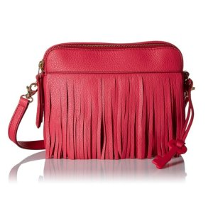 Lowest price! $69.51 Fossil Sydney Fringe Cross-Body Bag