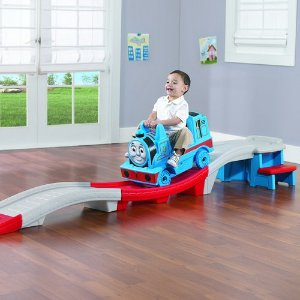 Step2 Thomas the Train Up & Down Roller Coaster Ride-On