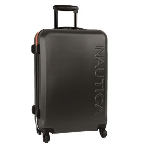 Nautica Ahoy Carry On 21 Inch Hardside Spinner Suitcase