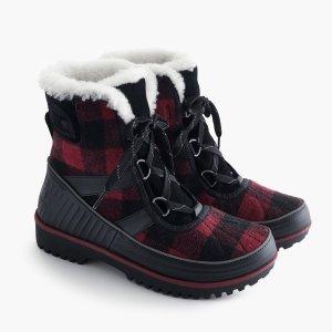 Women's Sorel For J.Crew Tivoli Boots In Buffalo Check : Women's Boots   J.Crew