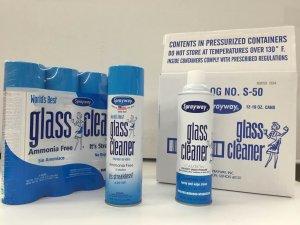 Sprayway 443331 Ammonia Free Glass Cleaner, 19 Oz. (4-Pack)