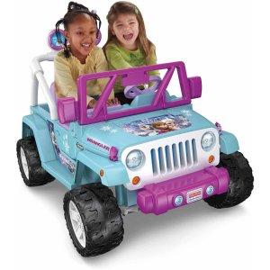 Fisher-Price Power Wheels Disney Frozen Jeep Wrangler