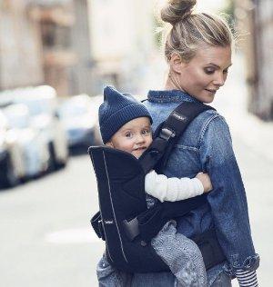 $48.79BABYBJORN Baby Carrier Original - Black, Cotton