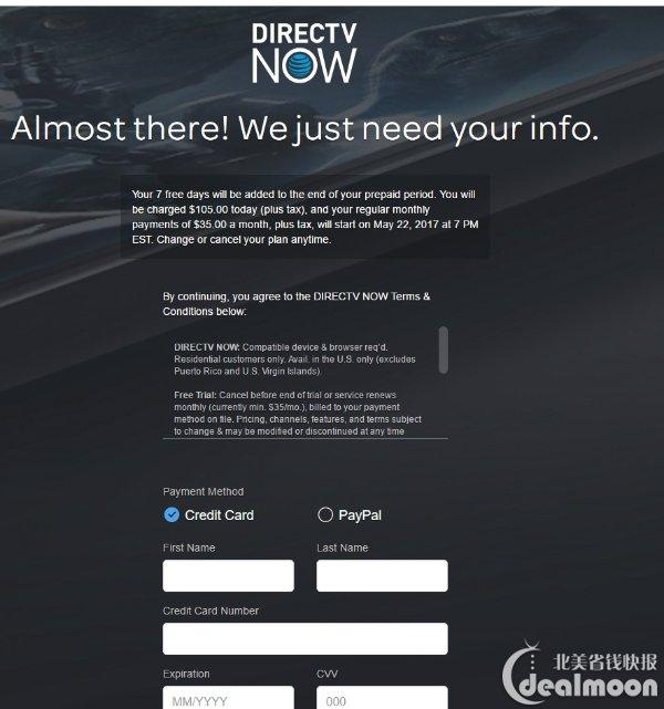 DIRECTV NOW Coupons & Promo Codes - $140 New Customers: DirecTV ...