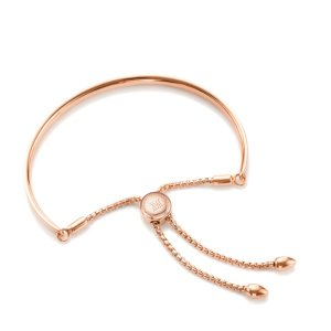 Fiji Chain Friendship Bracelet - Rose Gold | Monica Vinader