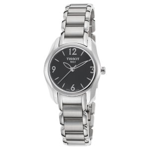 Tissot Women's T-Wave Stainless Steel Black Dial Stainless Steel | World of Watches
