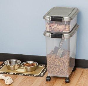 # 1 Best seller!  $13.94( Orig $27.99 )IRIS 3-Piece Airtight Pet Food Container Combo