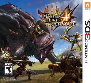 $18.18史低!怪物猎人4:终极版 标准版 - Nintendo 3DS