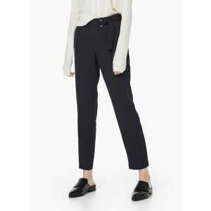Belt straight-fit trousers - Woman | OUTLET USA