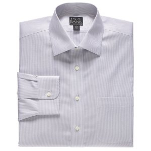 Classic Collection Non-Iron Standard Fit Spread Collar Dress Shirt CLEARANCE - Dress Shirts   Jos A Bank