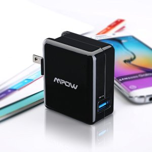Mpow 18W Quick Charge 2.0 USB AC Wall Charger