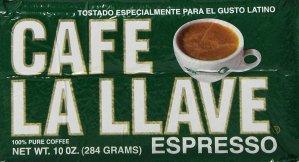 $1.89 Cafe La Llave Espresso Brick, 10 Ounce