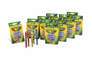 $12.23Crayola 24-Count Washable Ultra Clean Crayons, 12 Packs of 24-Count Crayons
