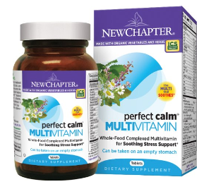 $32.26 New Chapter Perfect Calm Multivitamin, 144 Tablets