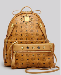 $612.5(Org. $875)30% Off MCM Backpack - Stark Medium Dual Pocket Sprinkle Stud @ Bloomingdales
