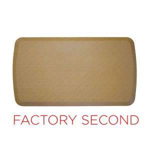 Factory Second : GelPro Elite Mat : Linen Khaki : 20x48