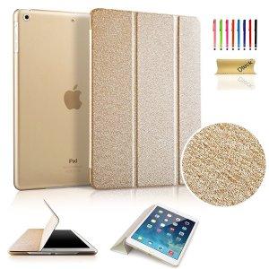 Dteck(TM) Ultra Slim iPad Mini 1/ 2/3 Case (Gold)