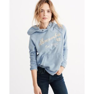 Womens Graphic Pullover Hoodie | Womens Clearance | Abercrombie.com