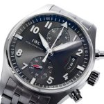 IWC Spitfire Ardoise Chronograph Dial Men's Watch