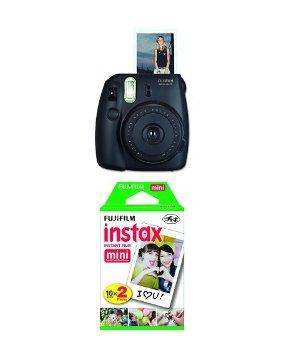 $41Fujifilm Instax Mini 8 Instant Film Camera with Twin Pack Instant Film (Yellow)