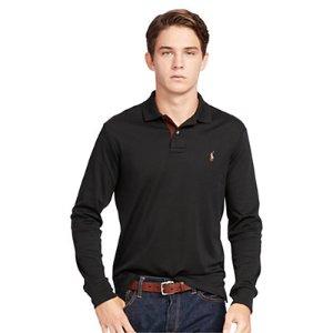 Custom-Fit Pima Cotton Polo - Custom Fit � Polo Shirts - RalphLauren.com