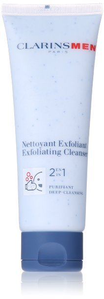 Clarins Men 2 in 1 Exfoliating Cleanser 4.4 oz.