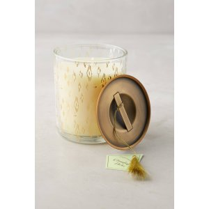 Gold-Flecked Candle | Anthropologie
