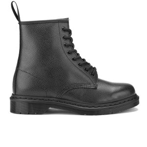 Dr. Martens Men's 1460 Pebble Leather 8-Eye Boots - Black - FREE UK Delivery