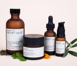 Choose up to 4 Deluxe Travel Samples & Bag when You Spend $100+ @Perricone MD