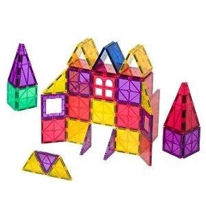 $31.49 Playmags Clear Colors Magnetic Tiles Building Set 60 Piece Starter Set @ Amazon