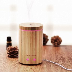 $21.96 InnoGear 160ml Real Bamboo Essential Oil Diffuser