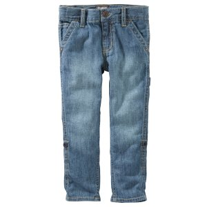 Toddler Boy Convertible Jeans - Camper Indigo | OshKosh.com