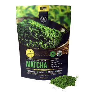 - Organic Japanese Matcha Green Tea Powder, Premium Culinary Grade